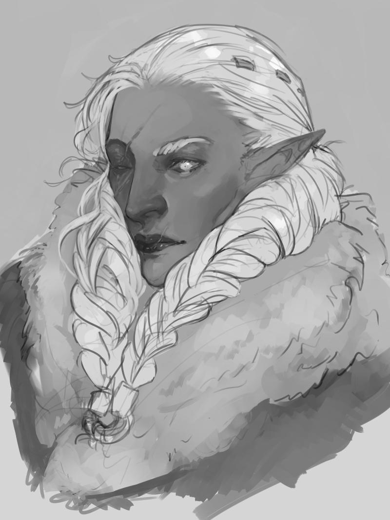 Snow Elf WIP01