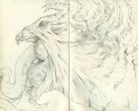 Venus Flytrap Dragon Sketch
